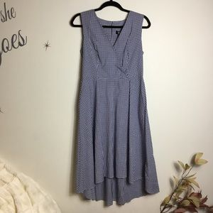 DKNY Long Gingham Summer Dress - NWT